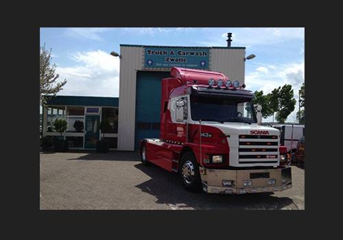 Truck- en Carwash Zwolle   De carwash voor vrachtwagens en auto\'s